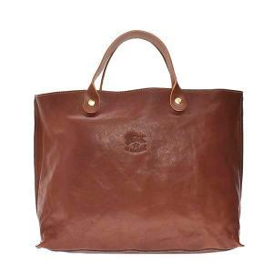 イルビゾンテ IL BISONTE バッグ トートバッグ BTH022 メンズ ブラウン 牛革 ブランド fashion-labo