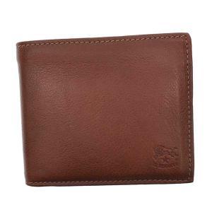 イルビゾンテ IL BISONTE 財布 二つ折り財布 折り財布 SBW023 メンズ ブラウン 牛革 ブランド fashion-labo