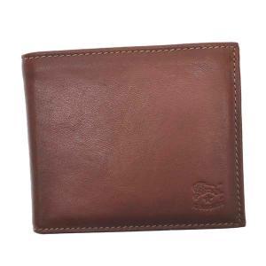 イルビゾンテ IL BISONTE 財布 二つ折り財布 折り財布 SBW029 メンズ ブラウン 牛革 ブランド fashion-labo