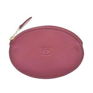 イルビゾンテ IL BISONTE 財布 小銭入れ コインケース SCP001 メンズ ピンク 牛革 ブランド fashion-labo