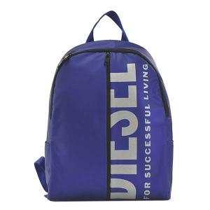 ディーゼル DIESEL バッグ バックパック リュックサック デイパック メンズ ブルー ロゴ ブランド X07343 fashion-labo