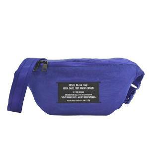 ディーゼル DIESEL バッグ ウエストポーチ ボディバッグ ベルトバッグ メンズ ブルー ブランド X07276 fashion-labo