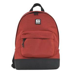 ディーゼル DIESEL バッグ バックパック リュックサック デイパック X07291 メンズ レッド 赤 ナイロンバッグ ロゴ ブランド fashion-labo