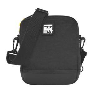 ディーゼル DIESEL バッグ ショルダーバッグ 斜めがけバッグ 斜め掛けバッグ X07506 メンズ ブラック 黒色 ナイロンバッグ ロゴ ブランド fashion-labo