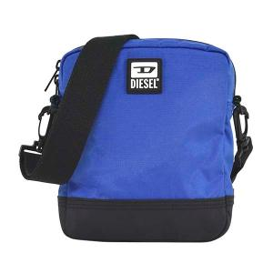 ディーゼル DIESEL バッグ ショルダーバッグ 斜めがけバッグ 斜め掛けバッグ X07506 メンズ ブルー 青 ナイロン ロゴ ブランド fashion-labo