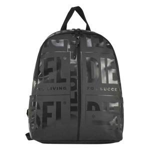 ディーゼル DIESEL バッグ バックパック リュックサック デイパック X07651 メンズ ブラック 黒色 ロゴ ブランド fashion-labo