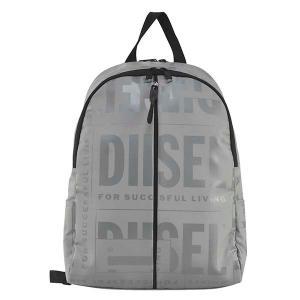ディーゼル DIESEL バッグ バックパック リュックサック リュック X07651 メンズ ライトグレー ロゴ ブランド fashion-labo
