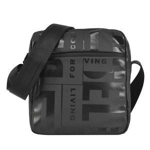 ディーゼル DIESEL バッグ ショルダーバッグ 斜めがけバッグ 斜め掛けバッグ X07797 メンズ ブラック 黒色 ロゴ ブランド fashion-labo