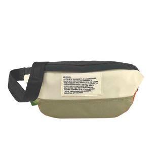 ディーゼル DIESEL バッグ ウエストポーチ ボディバッグ ベルトバッグ X07811 メンズ ホワイト 白色 ブランド fashion-labo