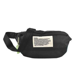 ディーゼル DIESEL バッグ ウエストポーチ ボディバッグ ベルトバッグ X07811 メンズ ブラック 黒色 ブランド fashion-labo