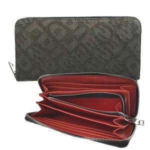 ディーゼル DIESEL 財布 長財布 ラウンド長財布 X08206 メンズ オリーブ コットン ブランド fashion-labo