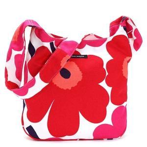 マリメッコ MARIMEKKO バッグ ショルダーバッグ レディース マリメッコ 042630 CLOVER ナナメガケ RED 001|fashion-labo
