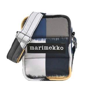 マリメッコ MARIMEKKO バッグ ショルダーバッグ レディース 斜めがけバッグ 斜め掛けバッグ ブラック グレー ベージュ マルチカラー ブランド 49146|fashion-labo