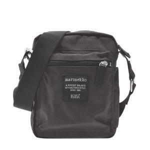 マリメッコ MARIMEKKO バッグ ショルダーバッグ 斜めがけバッグ 斜め掛けバッグ ななめがけバッグ 90182 レディース ダークパープル ナイロンバッグ ブランド|fashion-labo