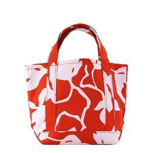 マリメッコ MARIMEKKO バッグ ハンドバッグ レディース マリメッコ 047007 SEIDI 花柄 フラワー レッド ホワイト ブランド RED/PK 330|fashion-labo