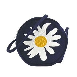 マリメッコ MARIMEKKO バッグ ショルダーバッグ 斜めがけバッグ 斜め掛け ミニバッグ レディース 花柄 フラワー ダークブルー ブランド 48550|fashion-labo