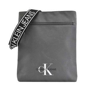 カルバンクライン CALVIN KLEIN バッグ ショルダーバッグ 斜めがけバッグ 斜め掛けバッグ メンズ グレー CK ロゴ ブランド K50K505815 fashion-labo