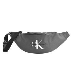 カルバンクライン CALVIN KLEIN バッグ ウエストポーチ ボディバッグ ベルトバッグ メンズ グレー CK ロゴ 斜めがけ 斜め掛け ブランド K50K505816 fashion-labo