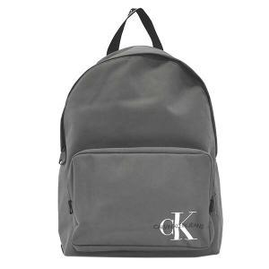 カルバンクライン CALVIN KLEIN バッグ リュックサック バックパック メンズ グレー CK ロゴ ジーンズ ブランド K50K505883 fashion-labo