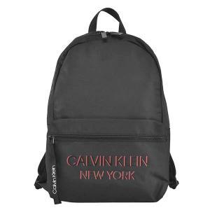 カルバンクライン CALVIN KLEIN バッグ バックパック リュックサック リュック デイパック K50K506520 メンズ ブラック 黒 ロゴ ブランド fashion-labo