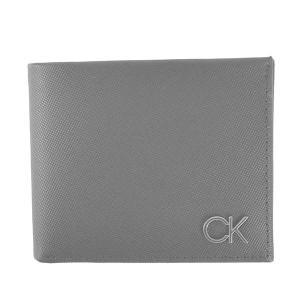 カルバンクライン CALVIN KLEIN 財布 二つ折り財布 折りたたみ財布 K50K506748 メンズ ブラック 黒 レザー 本革 牛革 CK ロゴ ブランド fashion-labo