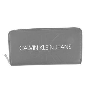 カルバンクラインジーンズ CALVIN KLEIN JEANS 財布 長財布 ラウンドファスナー K60K607634 メンズ ブラック 黒 ロゴ ブランド fashion-labo