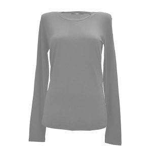 マックスマーラウィークエンド MAXMARA WEEKEND Tシャツ ロンT カットソー トップス 長袖 Sサイズ レディース ブラック 黒 ブランド fashion-labo