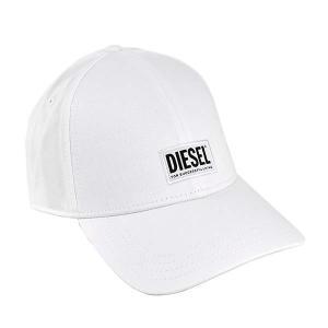 ディーゼル DIESEL 帽子 キャップ ベースボールキャップ スナップバック 野球帽 00SYQ9 メンズ ホワイト 白色 フリーサイズ コットン ブランド fashion-labo