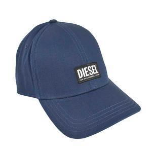ディーゼル DIESEL 帽子 キャップ ベースボールキャップ スナップバック 野球帽 00SYQ9 メンズ ネイビー フリーサイズ コットン ブランド fashion-labo