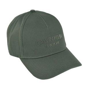 カルバンクライン CALVIN KLEIN 帽子 キャップ ベースボールキャップ K50K506411 メンズ レディース カーキ コットン ロゴ ブランド fashion-labo