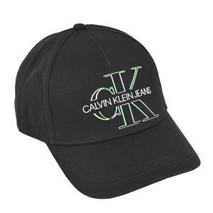 カルバンクライン CALVIN KLEIN 帽子 キャップ ベースボールキャップ スナップバック K50K506571 メンズ レディース ブラック 黒 コットン ロゴ ブランド fashion-labo