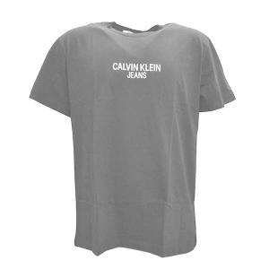 カルバンクライン CALVIN KLEIN Tシャツ Sサイズ ティーシャツ 半袖Tシャツ クルーネック メンズ ブラック バックロゴ ブランド J30J315728 fashion-labo