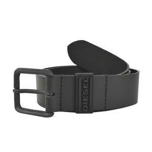 ディーゼル DIESEL ベルト 95cm X07123 メンズ ブラック 黒色 レザー 本革 牛革 ブランド fashion-labo
