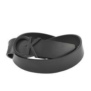 カルバンクライン CALVIN KLEIN ベルト 95 K50K506509 メンズ ブラック 黒 レザー 本革 牛革 CK ロゴ ブランド fashion-labo