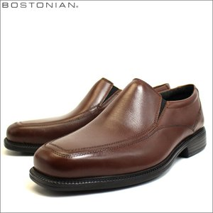 ボストニアン BOSTONIAN クラークス 姉妹ブランド 革靴 靴 ビジネスシューズ レザー 本革 スリッポン ブラウン メンズ ブランド 26025876 セール 2018 秋冬 新作|fashion-labo