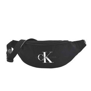 即日発送 カルバンクライン CALVIN KLEIN バッグ ウエストポーチ ボディバッグ ベルトバッグ メンズ ブラック CK ロゴ 斜め掛け 斜めがけ ブランド K50K505816 fashion-labo