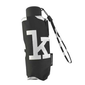 即日発送 マリメッコ MARIMEKKO 傘 折りたたみ傘 雨傘 折り畳み傘 48859 レディース ブラック ホワイト 黒色 白色 ロゴ ブランド|fashion-labo
