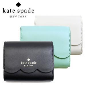 ケイトスペード 財布 レディース 二つ折り財布 KATE SPADE プラップ財布 ミニ財布 ジェマ wlr00553 スムースレザー 本革 ブランド ミニ財布 fashion-labo