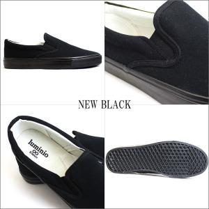 メンズ スリッポン カジュアル シューズ 靴 ルミニーオ スニーカー luminio グレー ホワイト ブラック デニム スター ストライプ lufo3737|fashion-labo|15