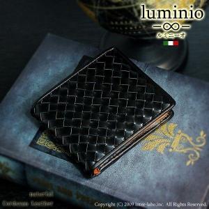 luminio ルミニーオ 財布 メンズ 二つ折り財布 コー...
