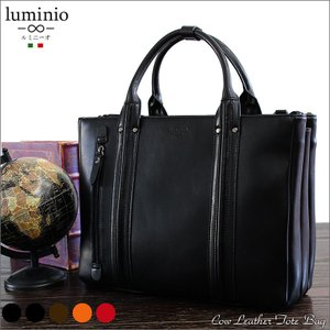 バッグ 本革 メンズ ビジネスバッグ 2way トートバッグ ショルダーバッグ レザー A4 ブリーフケース ブラック ブラウン luminio ルミニーオ 087916|fashion-labo