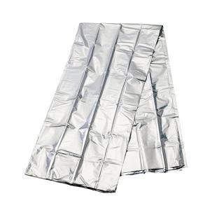 マークレススタイル MARKLESS STYLE 音が気にならないアルミブランケット エマージェンシーシート 断水時 被災時 災害時 大きいサイズ 折り畳み ts-1599|fashion-labo