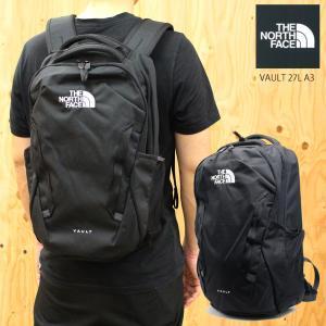 ノースフェイス リュック メンズ バッグ VAULT ヴォルト カバン バックパック リュックサック 27L A3 レディース ブラック 送料無料 通学 黒 シンプル 大容量|fashion-labo