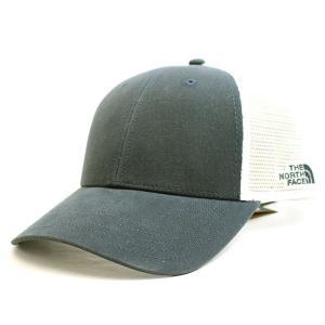 ノースフェイス THE NORTH FACE キャップ 帽子 ベースボールキャップ メンズ レディース ネイビー メッシュキャップ スナップバック ブランド nf0a4vua|fashion-labo
