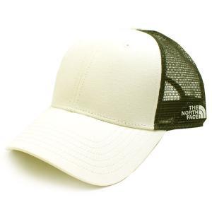 ノースフェイス THE NORTH FACE キャップ 帽子 ベースボールキャップ メッシュキャップ メンズ レディース ホワイト グレー スナップバック ブランド nf0a4vua|fashion-labo