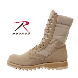 ロスコ ROTHCO 正規品 メンズ ブーツ デザート ジャングルブーツ G.I. Type Desert Tan Ripple Sole Jungle Boots 5058 セール|fashion-labo|03