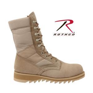 ロスコ ROTHCO 正規品 メンズ ブーツ デザート ジャングルブーツ G.I. Type Desert Tan Ripple Sole Jungle Boots 5058 セール|fashion-labo|04