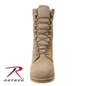 ロスコ ROTHCO 正規品 メンズ ブーツ デザート ジャングルブーツ G.I. Type Desert Tan Ripple Sole Jungle Boots 5058 セール|fashion-labo|05