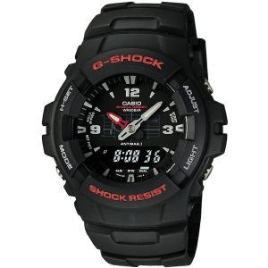 カシオ CASIO 正規品 時計 腕時計 G-SHOCK Gショック メンズ ブランド G-100-1BMJF G-100 SERIES|fashion-labo