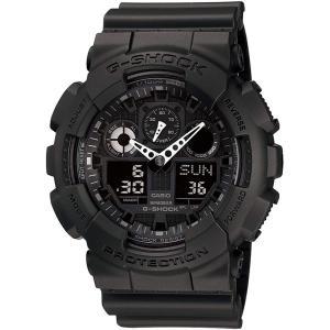 カシオ CASIO 正規品 時計 腕時計 G-SHOCK Gショック メンズ ブランド GA-100-1A1JF GA-100 SERIES|fashion-labo